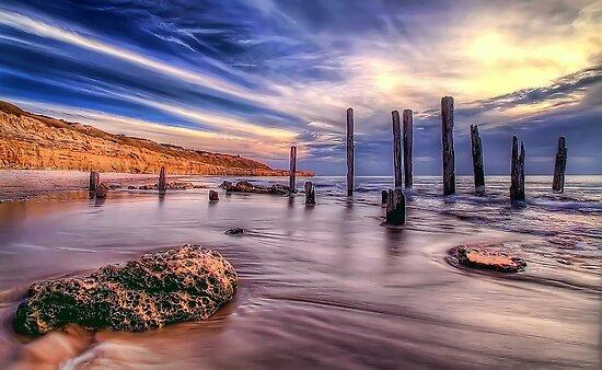 Sensational Seaside Scene by Shannon Rogers