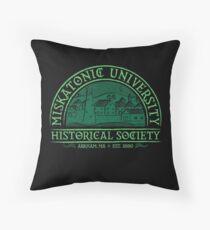 Miskatonic Historical Society Throw Pillow