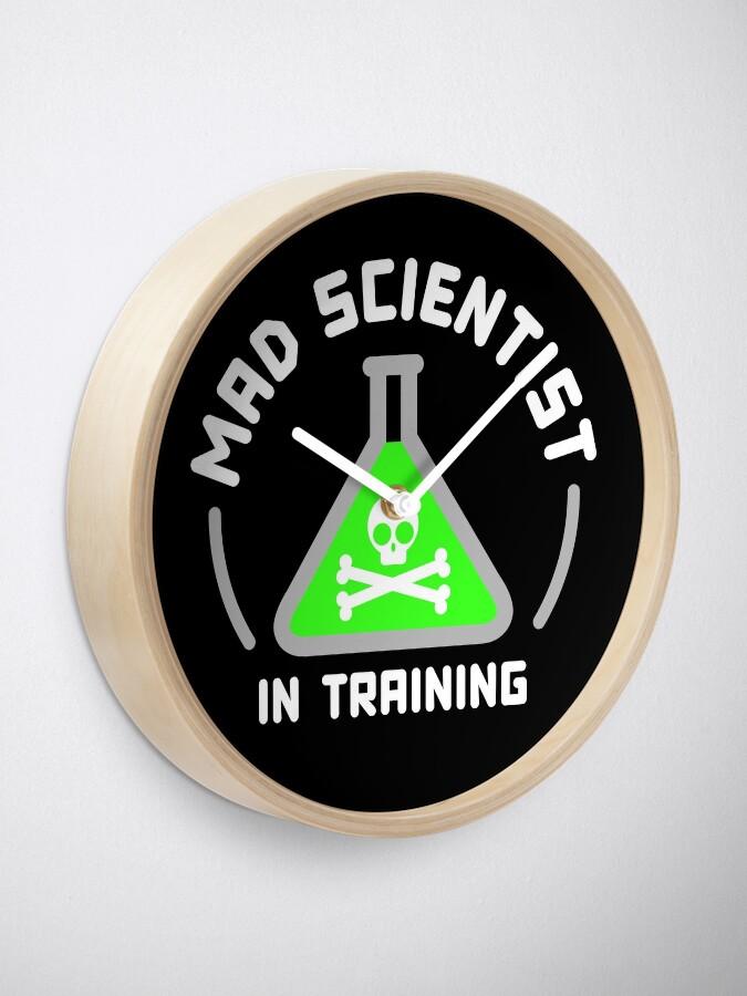 Alternate view of Mad Scientist in Training Clock