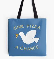 Krieg & Pizza Tote Bag