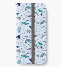 Vinilo o funda para iPhone Océano en azul