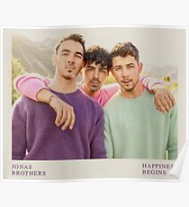 Jonas Brothers Happiness Begins Poster