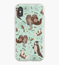 Sea Otters iPhone Case