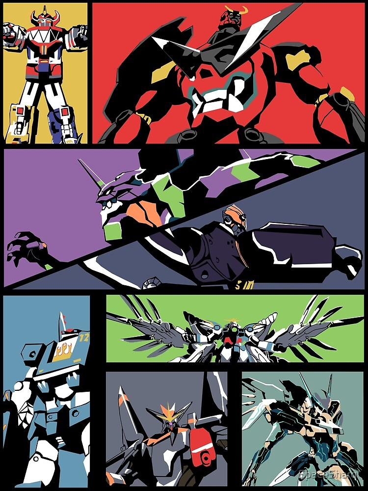 Super Robots de SpaceSharq