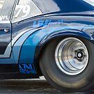 Camaro Drag Car Burn Out by inmotionphotog