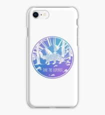 Save the Leopards! iPhone Case/Skin