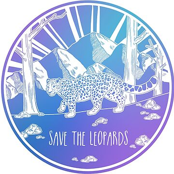 ¡Salva a los leopardos! de Chikagi