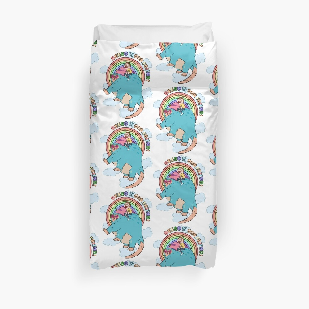 Beebo is our friend! Duvet Cover