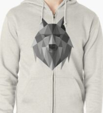 Wolf of The North Zipped Hoodie