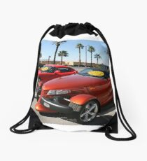 Rent Me In Vegas Drawstring Bag