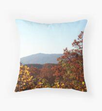 Breathtaking View of the Smoky Mountains Throw Pillow