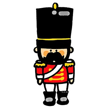 London guard toy soldier with mustache  by CuteCartoon
