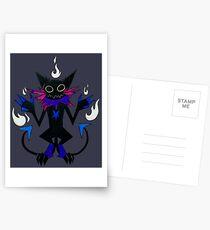 DEMON CAT Postkarten