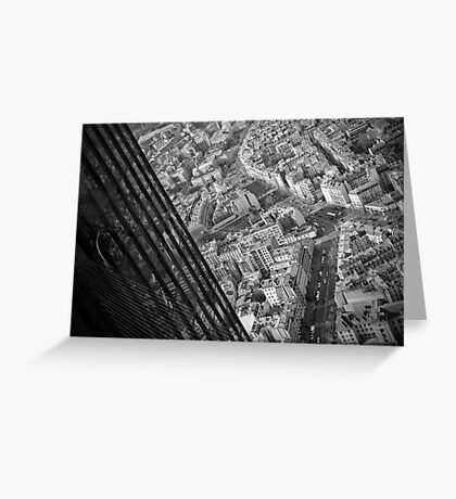 Montparnasse tower Greeting Card