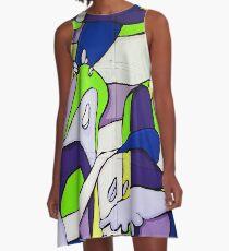 Slime Sauce A-Line Dress