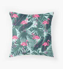 tropic abstract flamingo Dekokissen