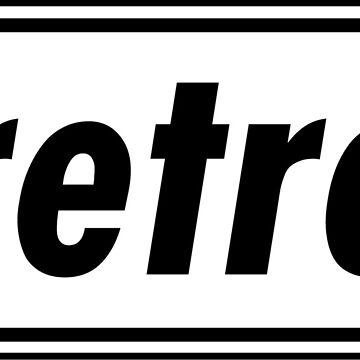 Retro - White by MacklinDocrt