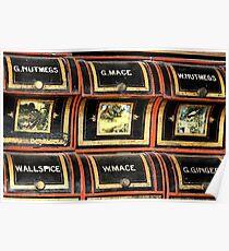 Spice rack 1 - Nostalgia Poster