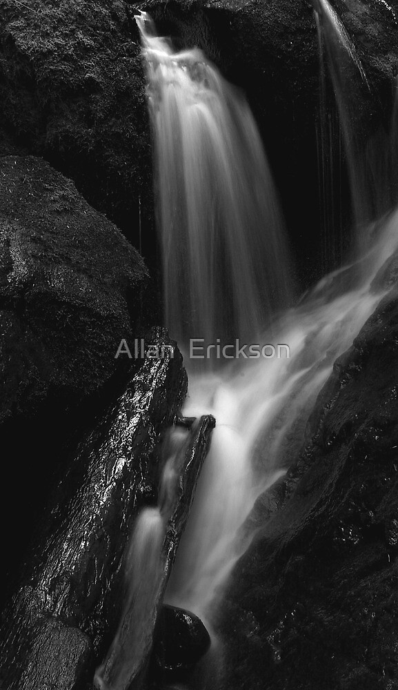 water and light, wood and stone... by Allan  Erickson