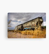 Whispers of the Rail Canvas Print