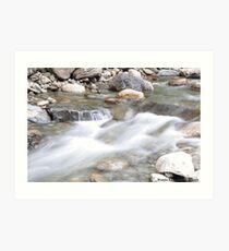 Cascading Water Art Print