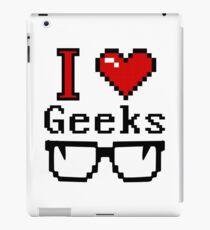 I Heart Geeks iPad Case/Skin