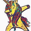 Kawaii Unicorn by cadcamcaefea