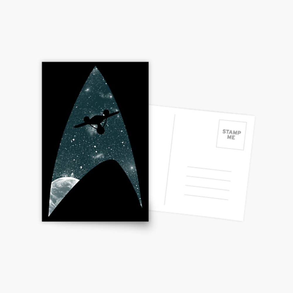 Space the final frontier Postcard