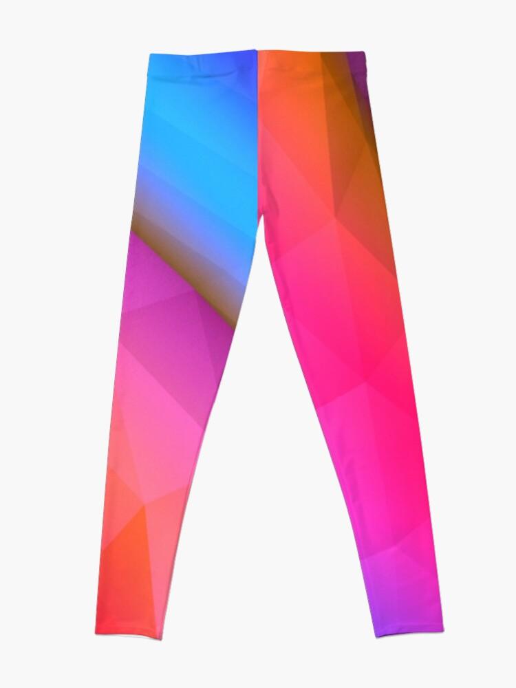 Alternative Ansicht von Rosa futuristisch Leggings