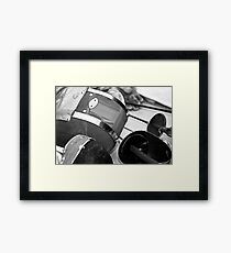 Fencing Equipment Framed Print