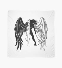 The Shadow Empire Black and white Scarf