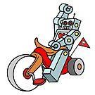 Hot Wheeling Robot Love by theartofdang