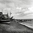 The beach at Sheringham, Norfolk, UK by Richard Flint