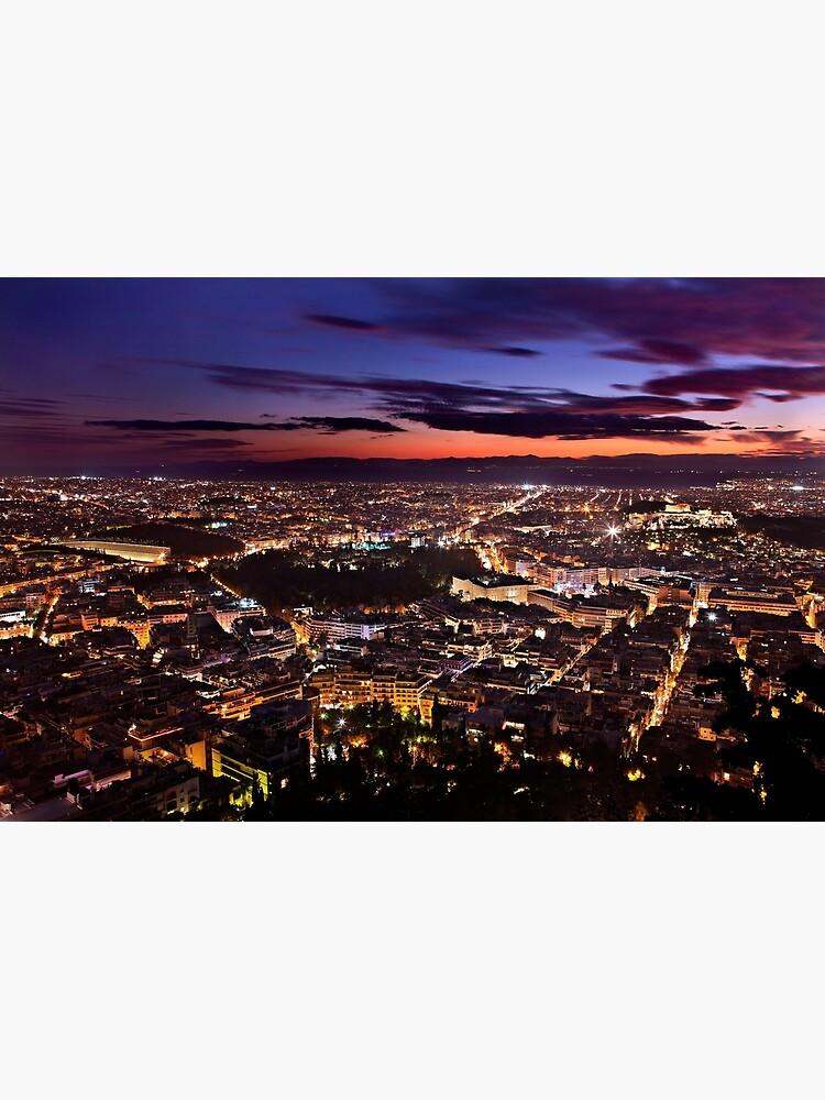 Sparkling Athens by Cretense72