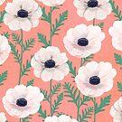 Anemones by Debi Hudson