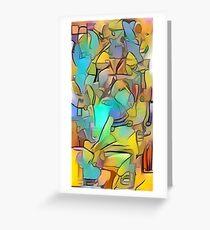 deep dream deep style doodle 5-18-19 Greeting Card