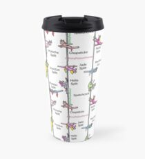Spreadies Every Day Pole Dancing Ponies Travel Mug