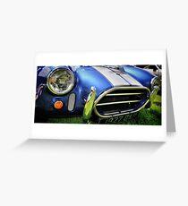 AC Cobra Greeting Card
