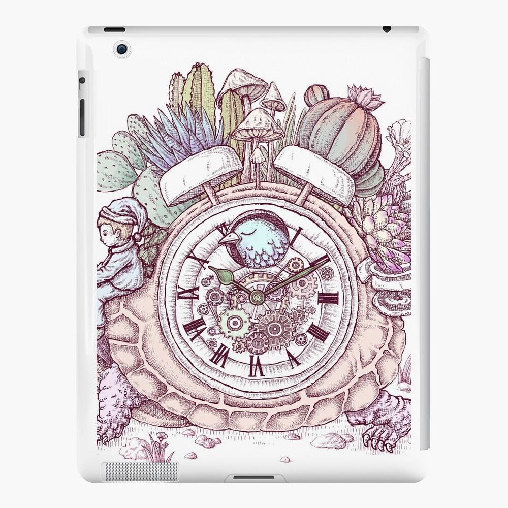 slow alarm clock iPad Cases & Skins