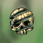 Sliced Skull by fakeface