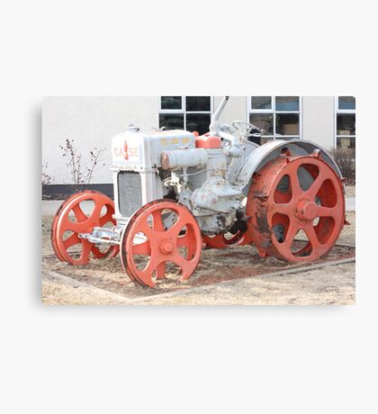 1928 Case Tractor Canvas Print
