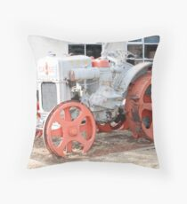 1928 Case Tractor Throw Pillow