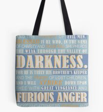 Pulp Fiction: Ezekiel 25:17 Tote Bag