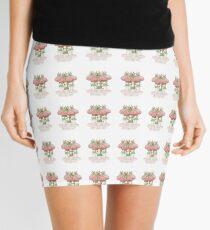 Dainty Fairies Sat on Toadstools Mini Skirt