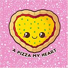 A Pizza My Heart [Pink] by pai-thagoras