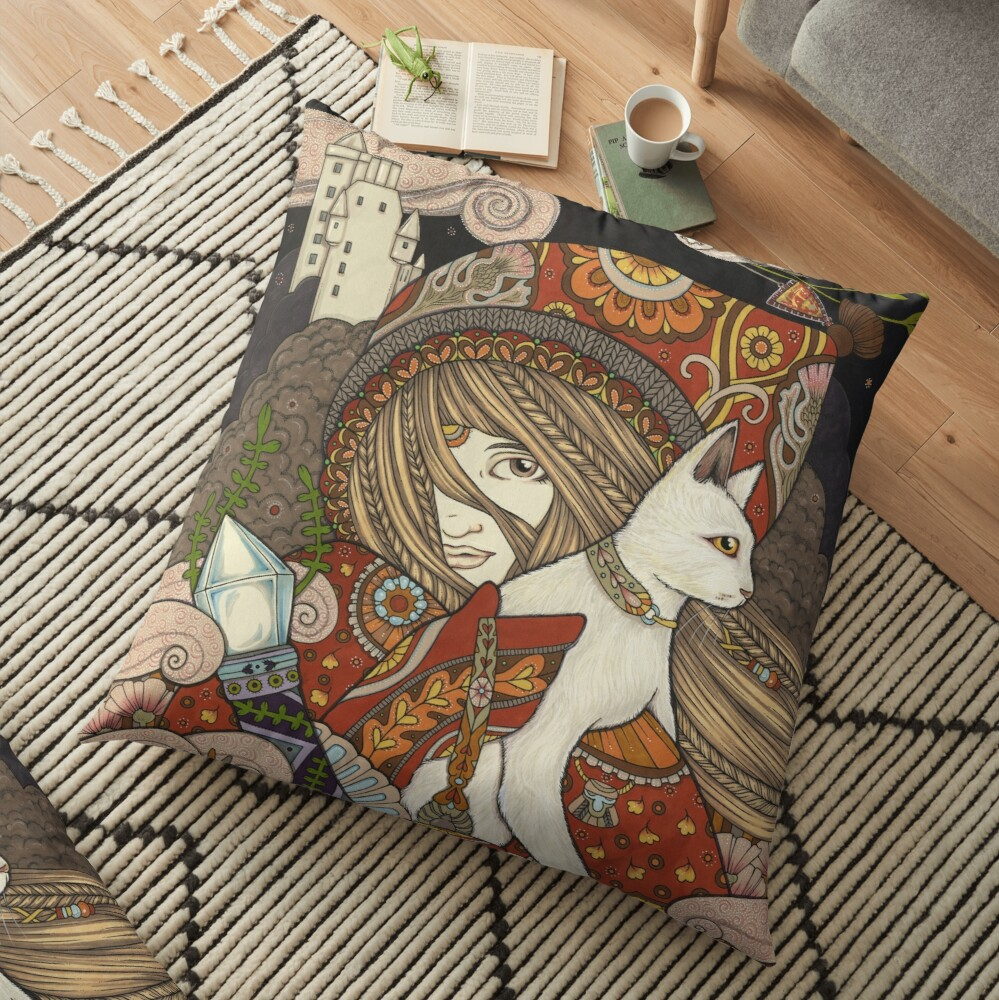 The Visionary Floor Pillow