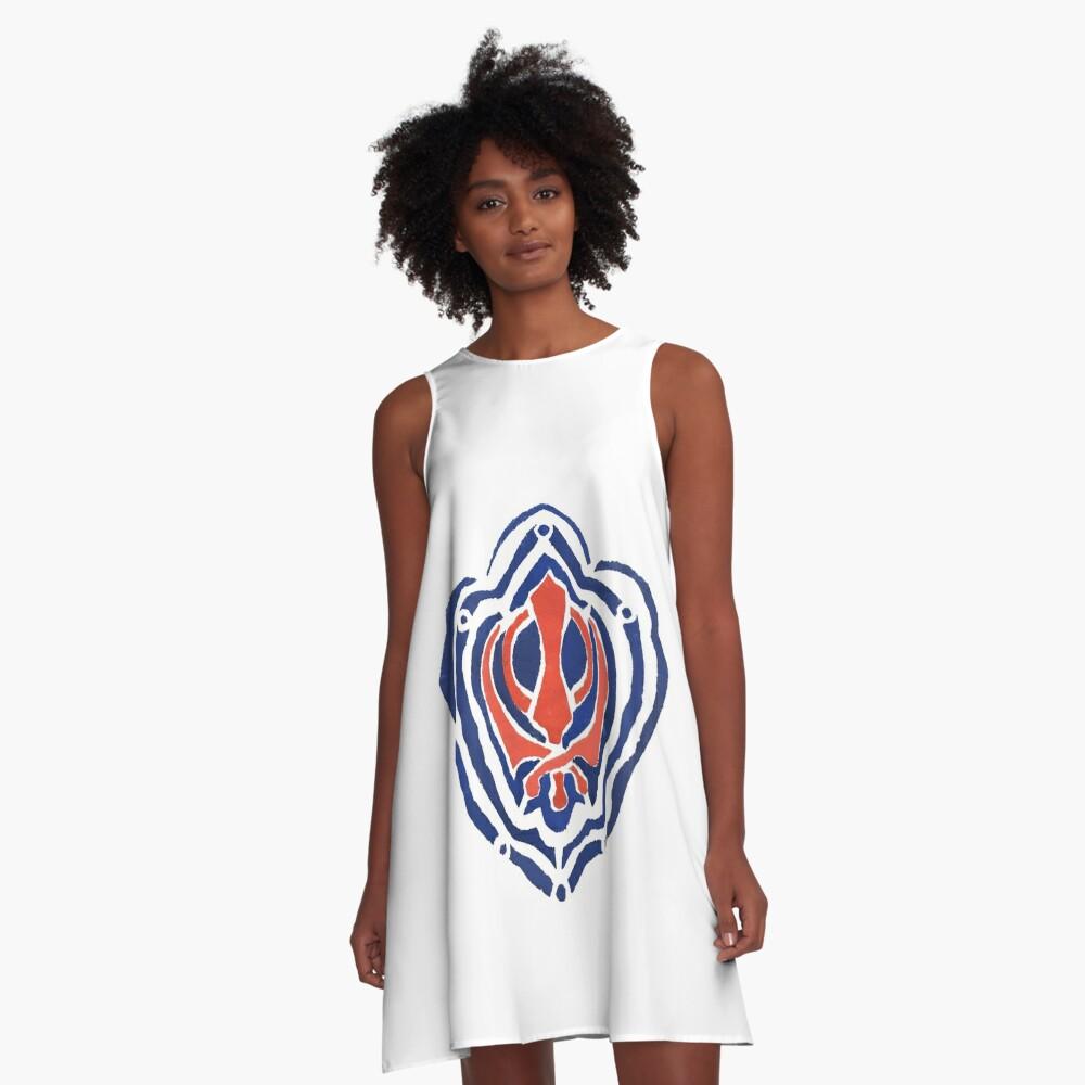 ADI SHAKTI  A-Line Dress