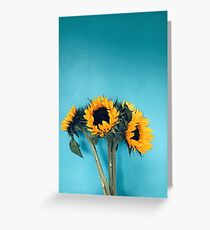 Sonnenblumen Grußkarte
