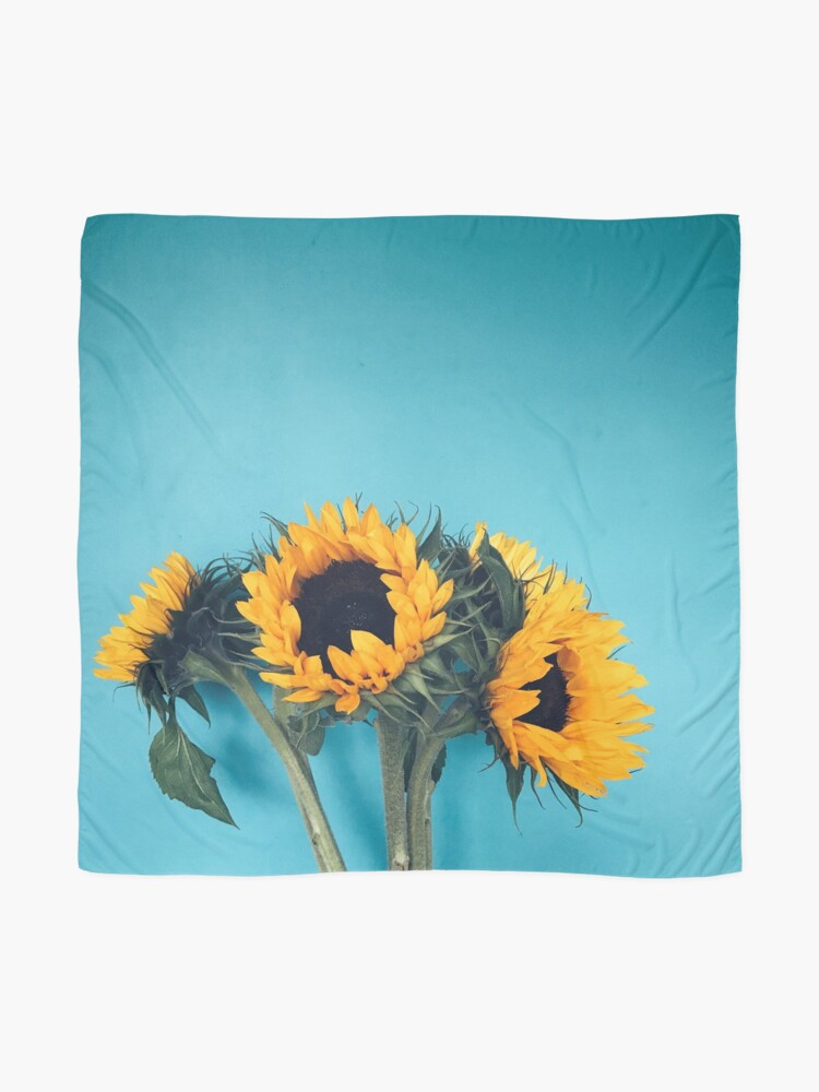 Alternate view of Sunflowers Scarf