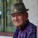 The old man at Rumtek by JYOTIRMOY Portfolio Photographer